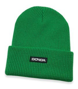 GONGA RIB BEANIE CELTIC GREEN box