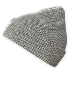 GONGA RIB BEANIE DOVE GREY black tag