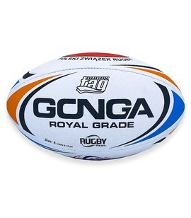 Gonga Rugby Royal Grade RugbyTAG Orange/Blue PZR size 4