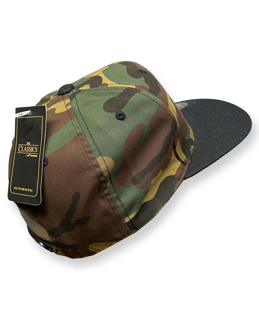 Gonga Premium Snapback Cap Basic Rugby  Red/Heather Grey